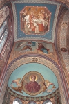 Северный алтарь Собора Архангела Михаила. Апсида и предалтарный свод