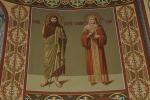 Северный алтарь Собора Архангела Михаила. Иоанн Предтеча и Равноапостольная Елена