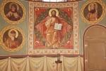 Северный алтарь Собора Архангела Михаила. Спас в силах. Избранные святые